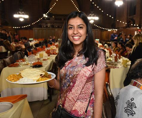 Diwali Pooja 2015 dinner