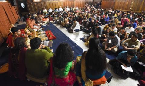 Diwali Pooja 2015 worship service